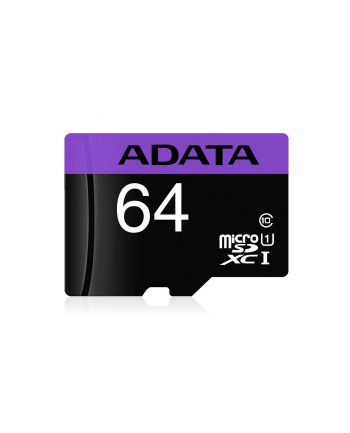 Adata microSDXC Premier 64GB UHS-1/class10 + adapter