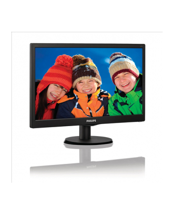 Philips 19.5'' 203V5LSB26/10  LED Czarny