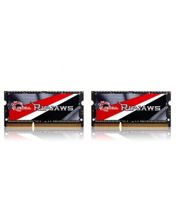 G.SKILL SODIMM Ultrabook DDR3 16GB (2x8GB) 1600MHz CL9 1.35V - Haswell Ready z radiatorami
