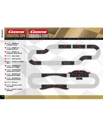 CARRERA Digital 124 Spurwechse Rechts