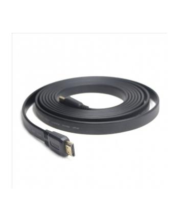 Gembird Kabel HDMI-HDMI v1.4 3D TV High Speed Ethernet  1M płaski (pozłacane końcówki)
