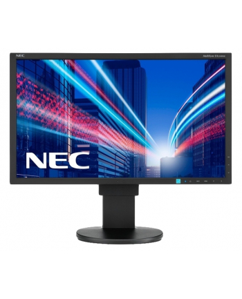 NEC Monitor MultiSync LED EA234WMi 23'' wide, IPS, DVI, HDMI, DP, pivot, czarny