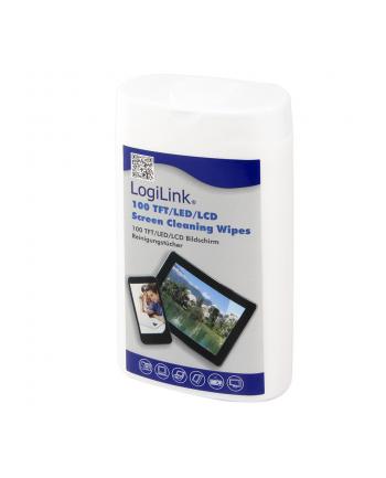 LogiLink Chusteczki czyszczące do paneli    TFT/LCD LED