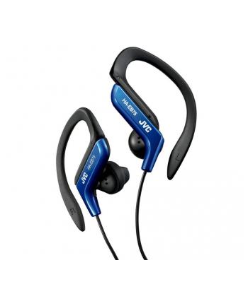 JVC Słuchawki sportowe HA-EB75-A  membrana neodymowa 13.5mm, regulacja w 5 zakresach