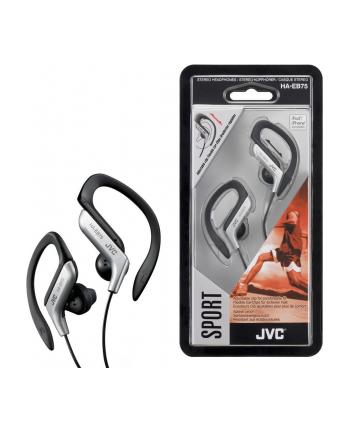 JVC Słuchawki sportowe HA-EB75-S  membrana neodymowa 13.5mm, regulacja w 5 zakresach