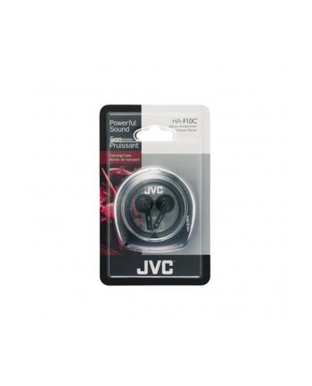 JVC Słuchawki douszne HA-F10C, membrana 13.5mm, Etui