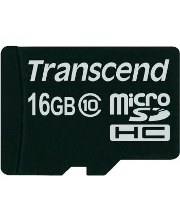 TRANSCEND Micro SDHC Class 10 16GB (bez adaptera)
