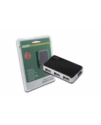 Digitus Hub USB2.0 4 portowy aktywny