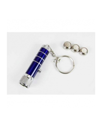 Camelion ARCAS 3 LED Keychain / extra stable aluminium housing / Powered by 3 x LR44 / AG13 Alkaline Button cell batteries (included) / sturdy key ring