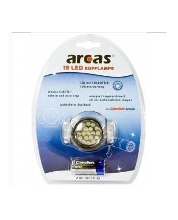 Camelion ARCAS 19 LED headlight incl. 3 x AAA batteries