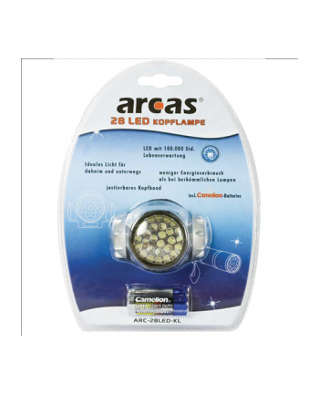 Camelion ARCAS 28 LED Headlight incl. 3 x AAA batteries