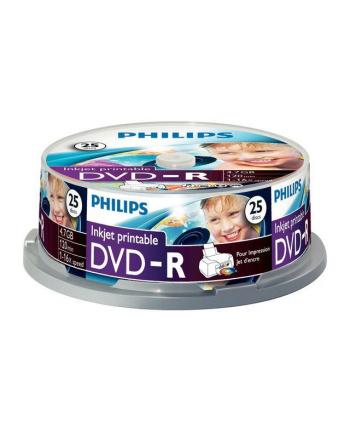 DVD-R Philips [ cake box 25 | 4.7GB | 16x ] do nadruku