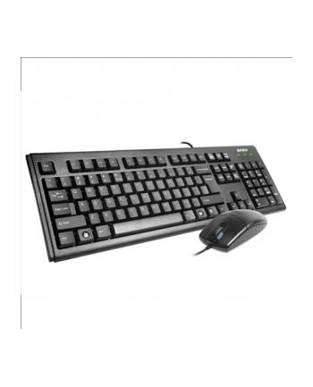Zestaw przewodowy Klaw. PS2 Mysz A4-Tech  - KM-72620D, US Black