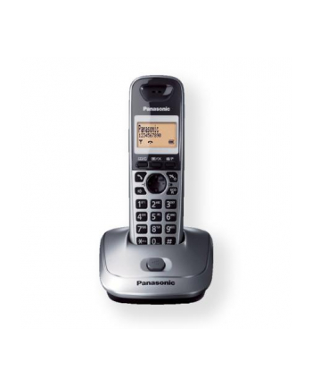 Panasonic KX-TG2511FXM Cordless phone, Silver /  LCD / Memory 50 numbers / Memory for 50 incoming numbers /  (5 levels) Auto-repeat, dialing station number, ringtone 10, selectable 16 tone / Wall-mount option