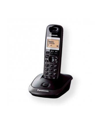 Panasonic KX-TG2511FXT Cordless phone, Black /  LCD / Memory 50 numbers / Memory for 50 incoming numbers /  (5 levels) Auto-repeat, dialing station number, ringtone 10, selectable 16 tone / Wall-mount option