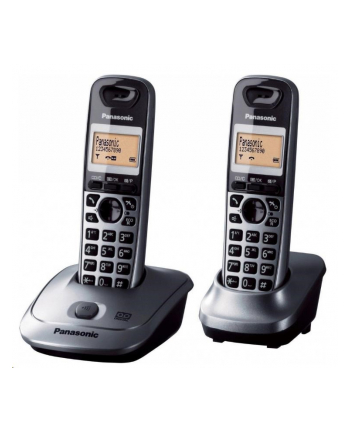 Panasonic KX-TG2512FXT Cordless phones, Black /  LCD display/ Memory 50 numbers / Memory for 50 incoming numbers / Auto-repeat, dialing station number, ringtone 10, selectable tone 32 /   MUTE, FLASH, HOLD functions  / SMS / Wall-mount option
