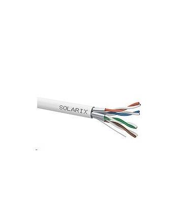 Instalacja kablowa Solarix CAT6A STP LSOH drut 500m/box