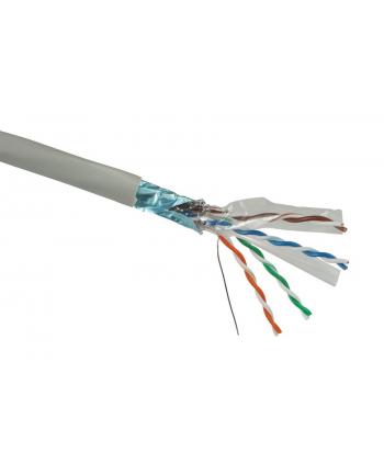 Instalacja kablowa Solarix CAT6 FTP PVC drut 500m/box