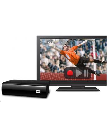 Western Digital Dysk zewnętrzny WD My Book AV-TV, 3.5'', 1TB, USB 3.0, czarny
