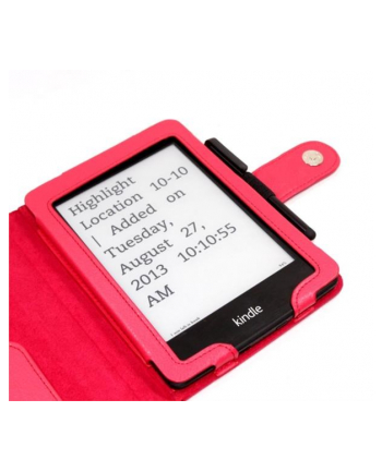Amazon C-TECH PROTECT Case for Kindle PAPERWHITE with WAKE/SLEEP function, red