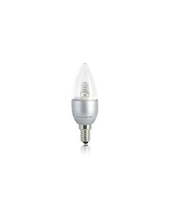 Integral CANDLE 4.5W Warm White 3000k 230lm E14 Non-Dimmable, Clear, 200° Beam Angle