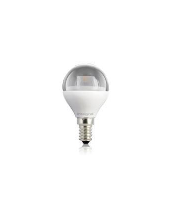 Integral MINI GLOBE 4W Warm White 2700k 250lm E14 Non-Dimmable, Clear, 230° Beam Angle