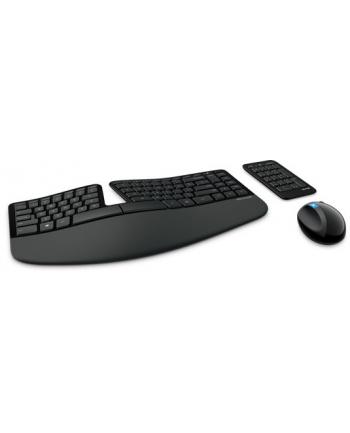 Microsoft Sculpt Ergonomic Desktop USB Port Eng L5V-00021 (zestaw bezprzewodowy klawiatura+mysz)