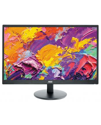 AOC Monitor LED e2270Swn 21.5'' wide FHD 1920 x 1080, 20M:1, 200cd/m, 5ms, D-Sub