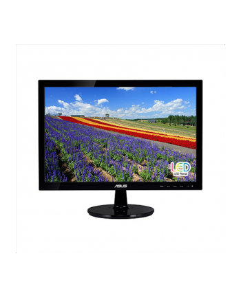 ASUS LCD ASUS MT LCD LED  18.5'' VS197DE, 1366x768, 5 ms, wide, 50mil:1, 250 cd/m2, D-Sub, black