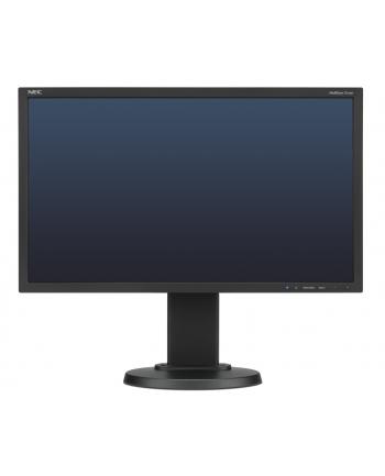 NEC Monitor MultiSync LED E224Wi 21.5'', Full HD, IPS, DVI, DP, czarny