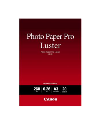 Papier Canon LU-101 A3, 20 kartek