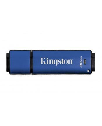 Kingston pamięć USB DataTraveler 32GB DTVP30, 256bit AES Encrypted USB 3.0