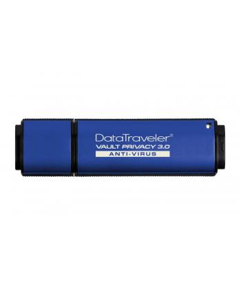 Kingston memory USB DataTraveler 32GB DTVP30AV, 256bit AES Encrypted + ESET AV
