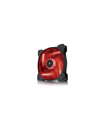 Corsair wentylator AF140 Quiet Edition LED Red,140mm, 3pin,1200 RPM, 25.5 dBA