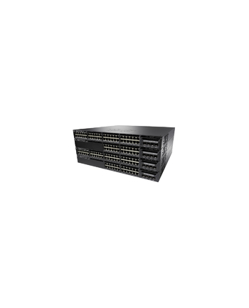 Cisco Systems Cisco Catalyst 3650 48 Port PoE, 640W AC PS, 2x10G Uplink, LAN Base