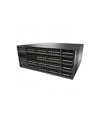 Cisco Systems Cisco Catalyst 3650 48 Port Data, 250W AC PS, 4x1G Uplink, LAN Base