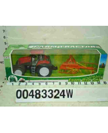 DROMADER Zest. Traktor z maszyną