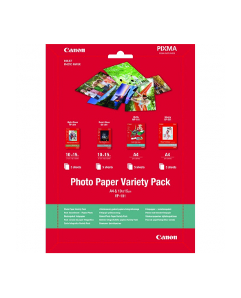 CANON PRINTERS Canon PAPER VP-101 A4 & 10x15