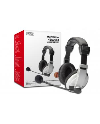 Słuchawki z mikrofonem  DIGITUS DA-12201