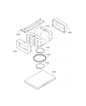 Bosch Simenes Akcesoria do okapów Bosch DHZ5385