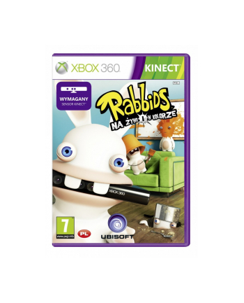 Gra Xbox 360 Raving Rabbids Classics
