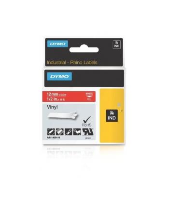 ETYK. RHINO WINYL 12mm BIALY/CZERWONY   1805416