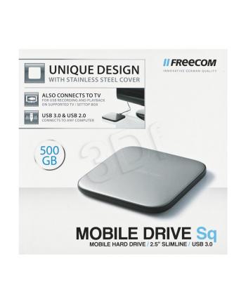 HDD FREECOM MOBILE DRIVE SQ 500GB USB 3.0 SLIM ZEW