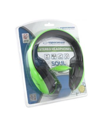 ESPERANZA Słuchawki Audio Stereo z Regulacją Głośności EH138G | 3m