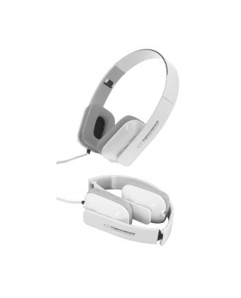 ESPERANZA Słuchawki Audio Stereo z Regulacją Głośności EH143W | 3m