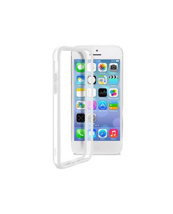 1idea PURO Bumper Cover - Etui do iPhone 5C (białe)