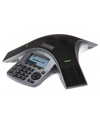 SoundStation IP5000 (SIP) conference phone. 802.3af Power over Ethernet. Includes 25' (6 meter) Cat5 shielded Ethernet cable.