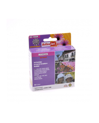 Active Jet TUSZ ACTIVEJET BROTHER LC1100M LC980M MAGENTA  AB-1100M / AB-1100MNX