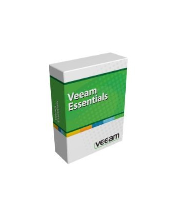[L] 1 additional year of maintenance prepaid for Veeam Backup Essentials Enterprise 2 socket bundle for VMware