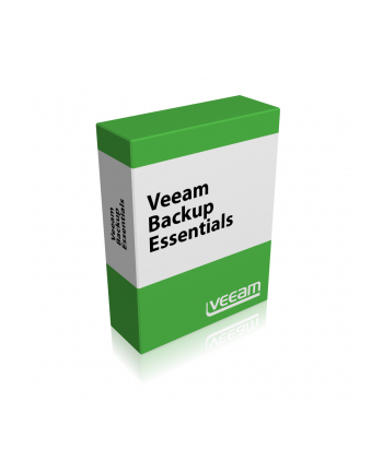 [L] Veeam Backup Essentials Enterprise Plus for VMware 2 socket bundle Upgrade from Veeam Backup Essentials Enterprise